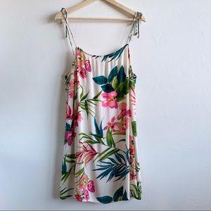 Large bow back swing dress/swim cover up.